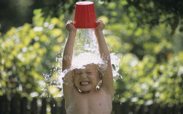 Здоровый образ жизни для ребенка - закаливание