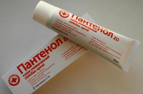 Спрей пантенол, особенности применения