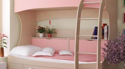 Двухъярусные кровати по доступным ценам в МСК