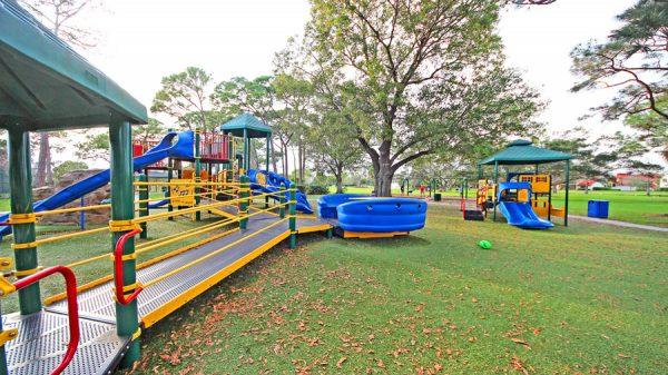 Ландшафтный дизайн площадки для детей