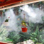 Туманные охладители для летних площадок